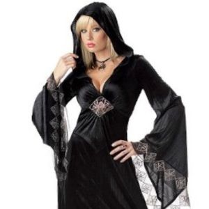 Sexy Spider Robe Costume Size Large